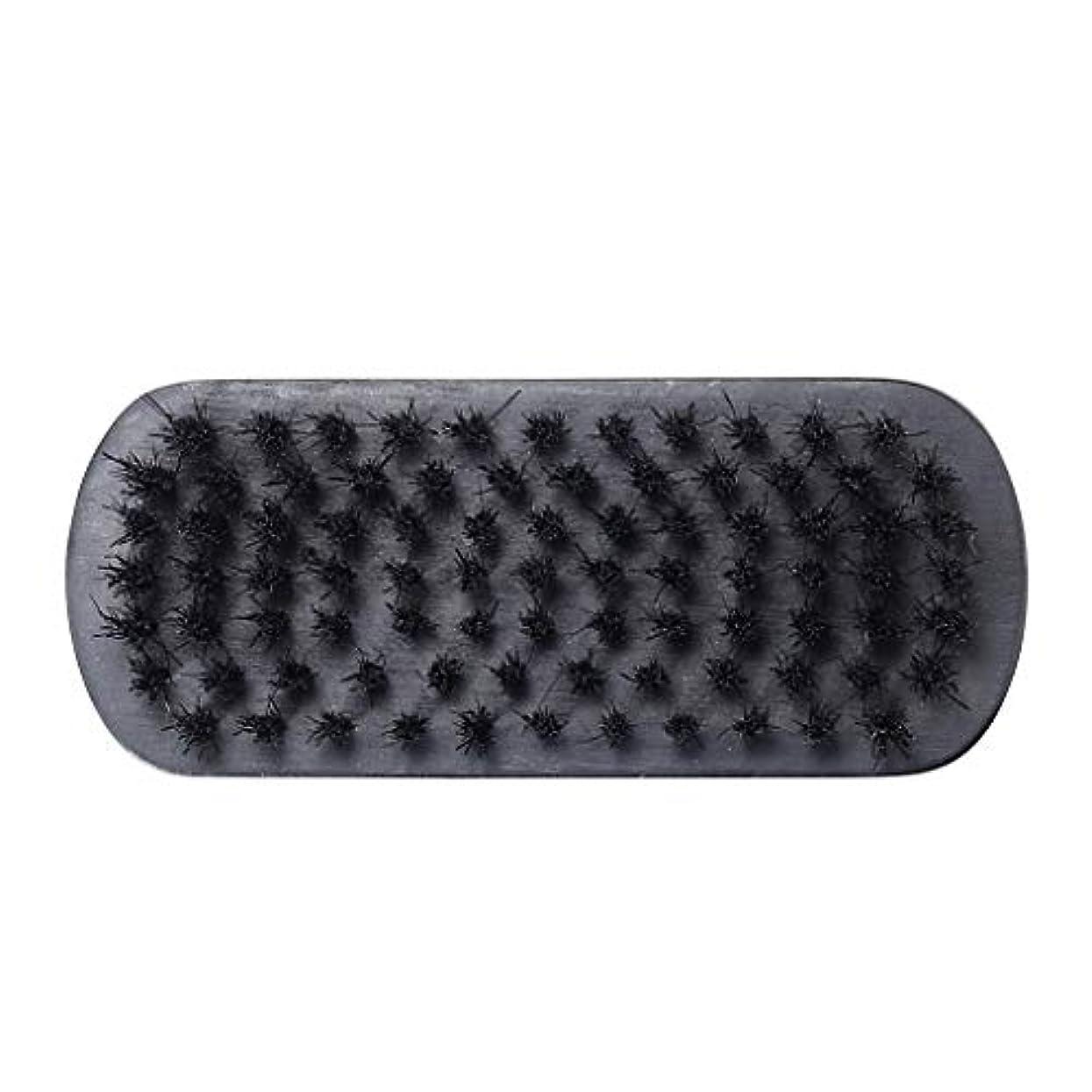 尽きるひねくれた呪いHellery 旅行の理髪師のためのクリーニングをきれいにする人の口ひげのあごひげのブラシの顔の毛