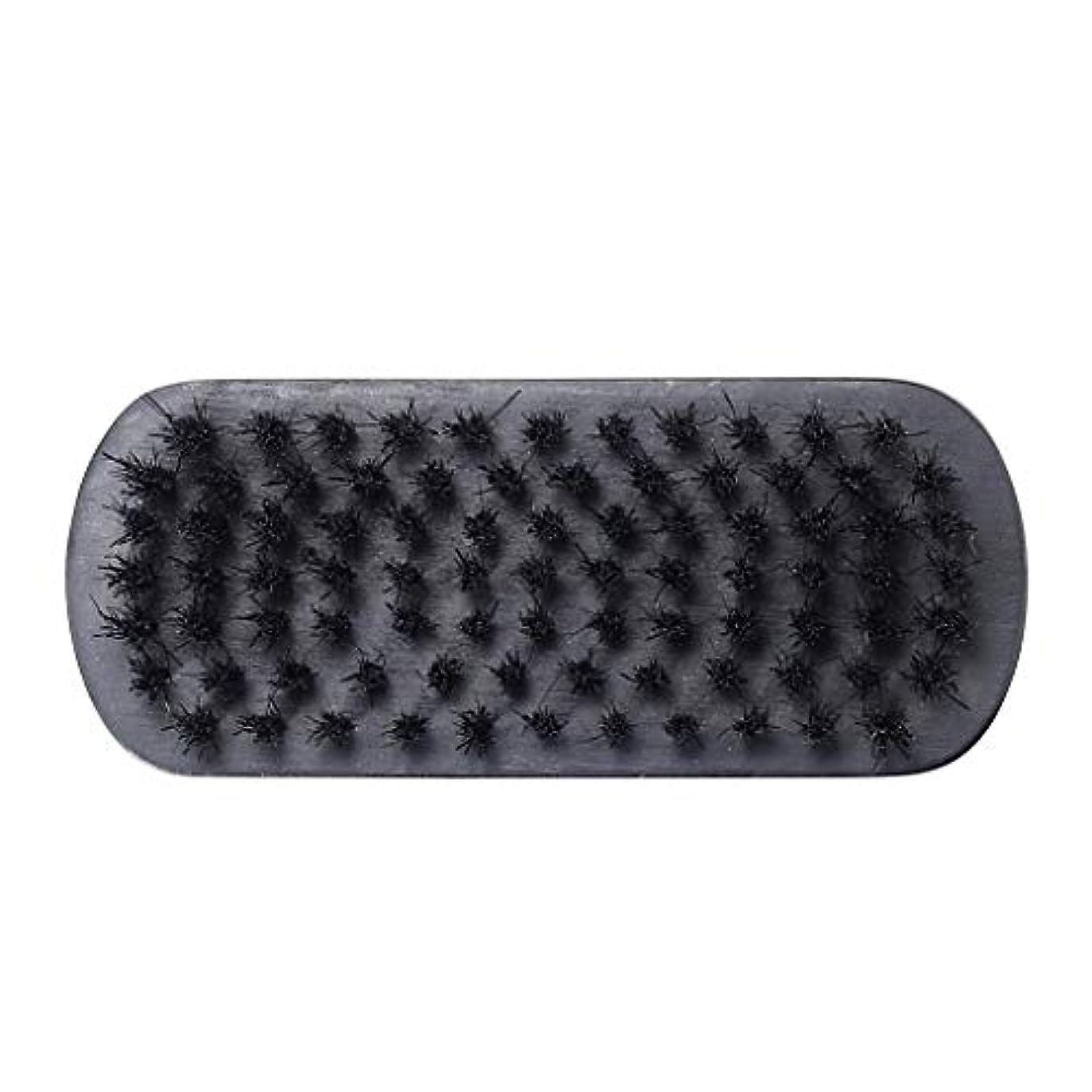 繊維コンテンツ飢饉旅行の理髪師のためのクリーニングをきれいにする人の口ひげのあごひげのブラシの顔の毛