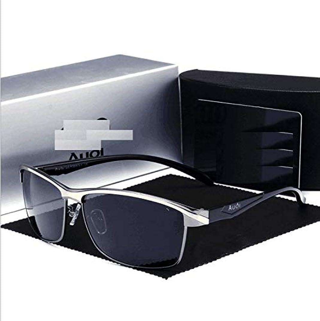テーブルを設定するドキュメンタリー内向き偏光サングラス車のブランドギフトドライバー特別な運転メガネ男性551、高精細ナイトビジョンアンチグレアガラス、アンチスクラッチ、