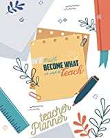 Lesson Planner for teachers: Weekly and Monthly Planner | Academic Year Lesson Plan and Record Book (2019-2020 Lesson Plan Books for Teachers) | 8x10'', 160 pages