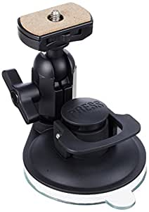 REC-MOUNTS(レックマウント) 曲面対応 カメラ用 サクションカップマウント(吸盤スタンド) 強力吸盤 自由雲台付ショートタイプK[REC-B42UK]