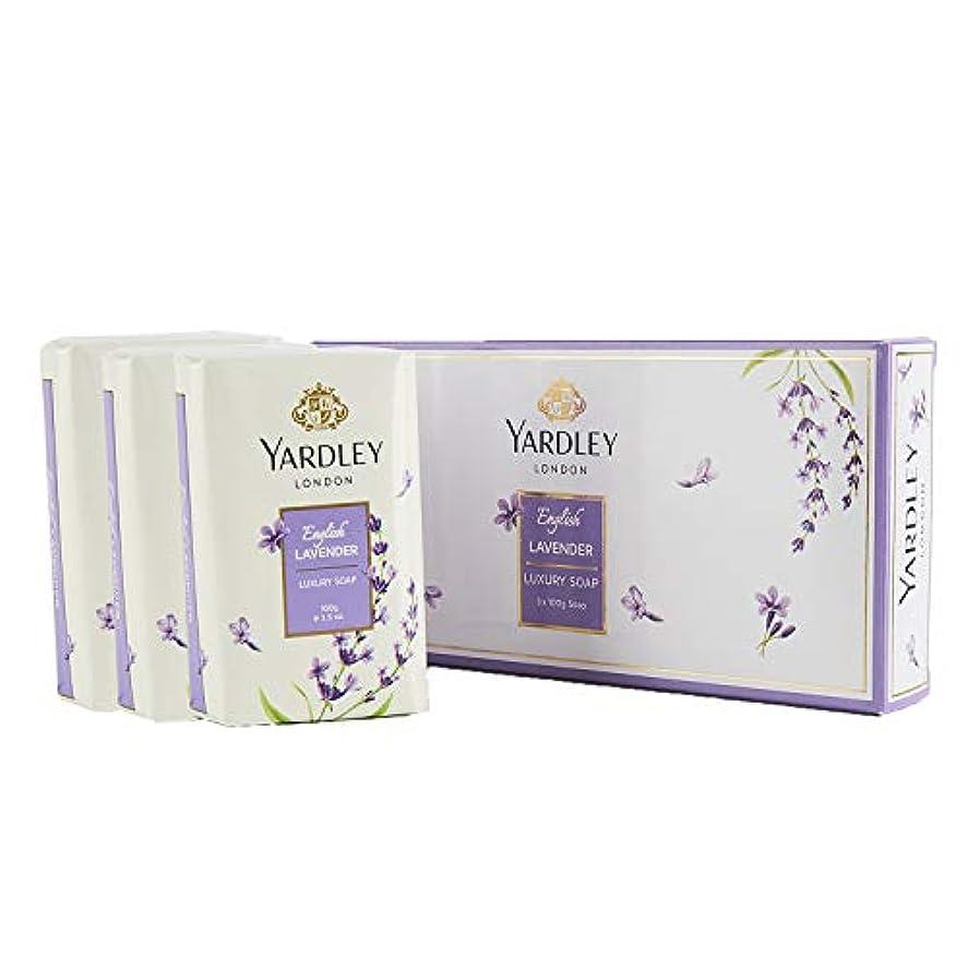 翻訳する船酔い思想Yardley English Lavender Luxury Soap, 3x100gm