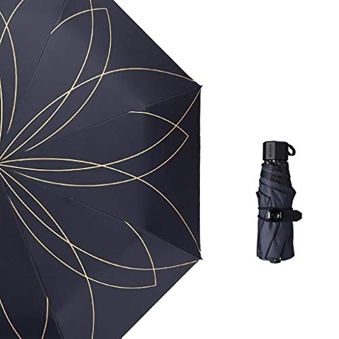指令サイクロプス幸運なことに日傘日焼け止めUVウルトラライトスモール折りたたみ傘兼用日焼け止めミニ (色 : C)
