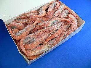 ロシア南蛮えび 2L サイズ 1kg 【冷凍】/(3箱)