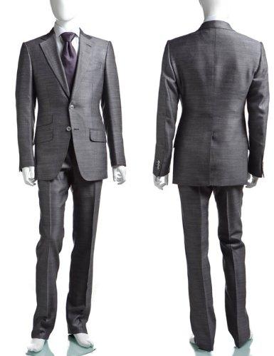 TOM FORD メンズ スーツ (21SA4C 915R05)【44-グレー】 並行輸入品