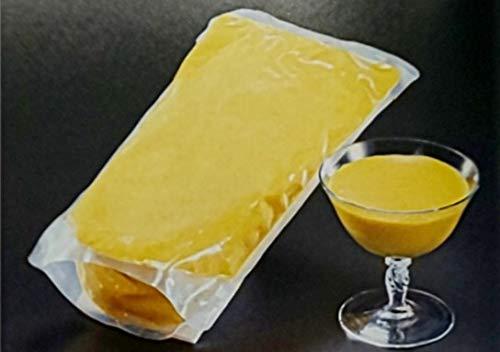 冷凍 かぼちゃプリン 1kg 業務用 暖めてお好きな器に移してお召し上がり頂けます。