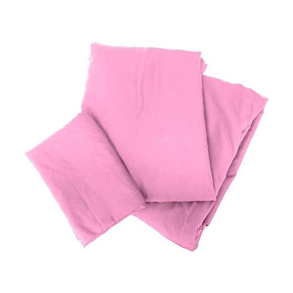 布団カバー セミダブル 3点セット ピンク 抗菌...の商品画像
