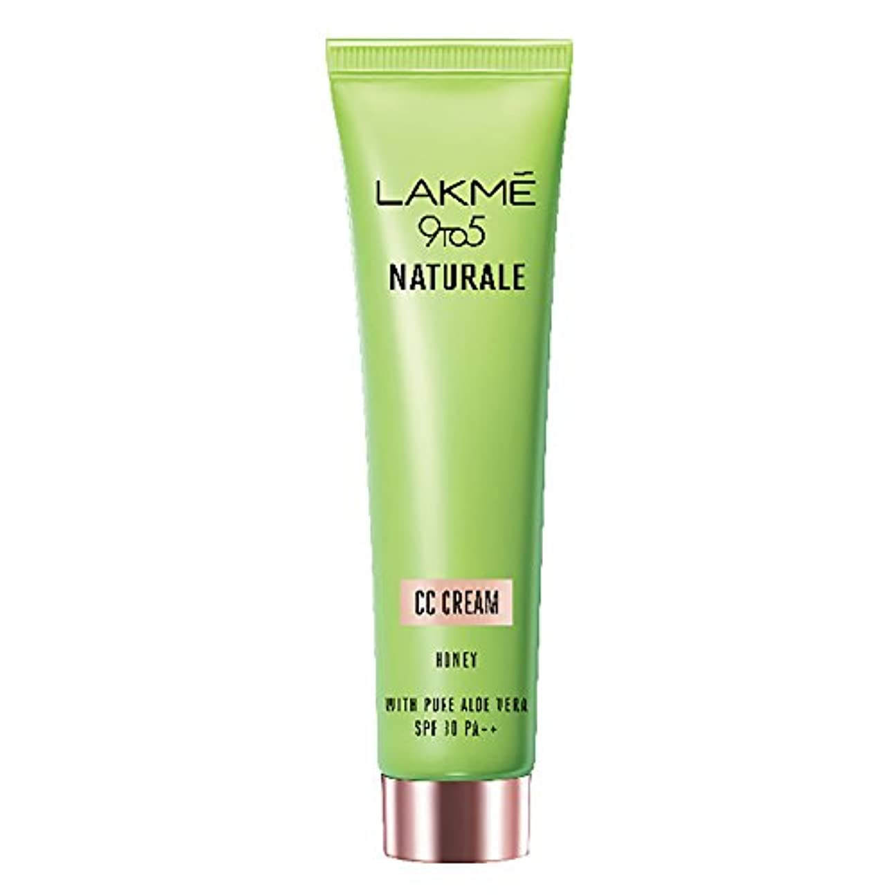 優勢誤解させるインタネットを見るLakme 9 to 5 Naturale CC Cream, Honey, 30g