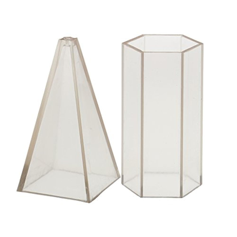 Homyl DIY キャンドル 工芸品 幾何学形状 キャンドル 金型 石鹸金型 材料