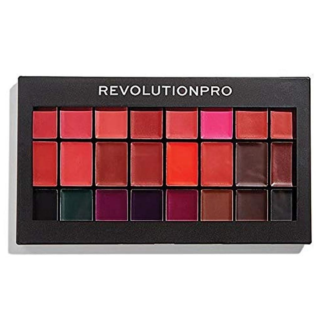 バケツ現象フラッシュのように素早く[Revolution ] 革命プロ口紅キット赤&Vamps - Revolution Pro Lipstick Kit Reds & Vamps [並行輸入品]