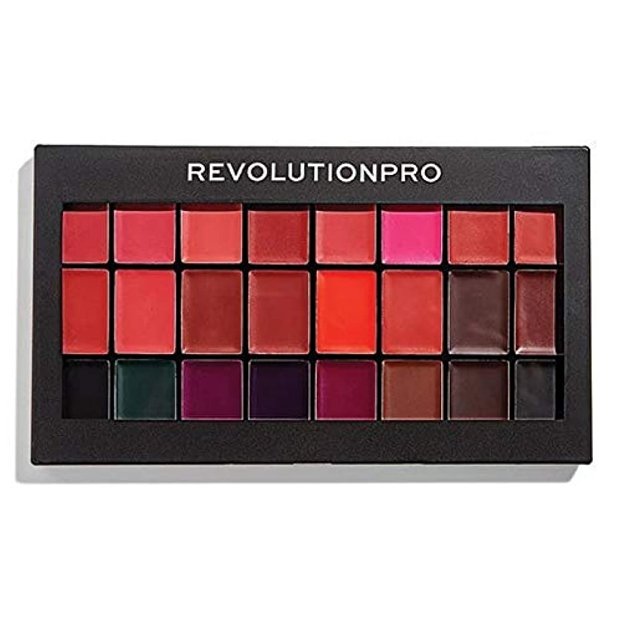 木材リファイン忌まわしい[Revolution ] 革命プロ口紅キット赤&Vamps - Revolution Pro Lipstick Kit Reds & Vamps [並行輸入品]