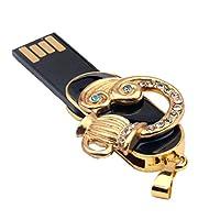 monkeyjack 16GB AquariusフラッシュドライブConstellation USBメモリスティックペンダントストレージfor PC