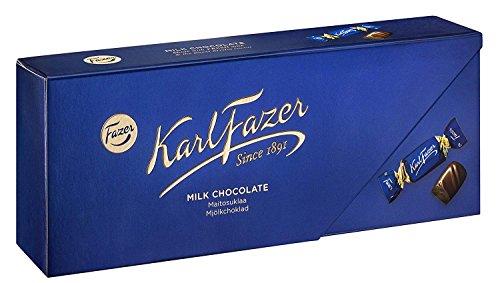 Karl Fazer カール・ファッツェル ミルクチョコレート 270g× 6箱セット フィンランドのチョコレートです [並行輸入品]