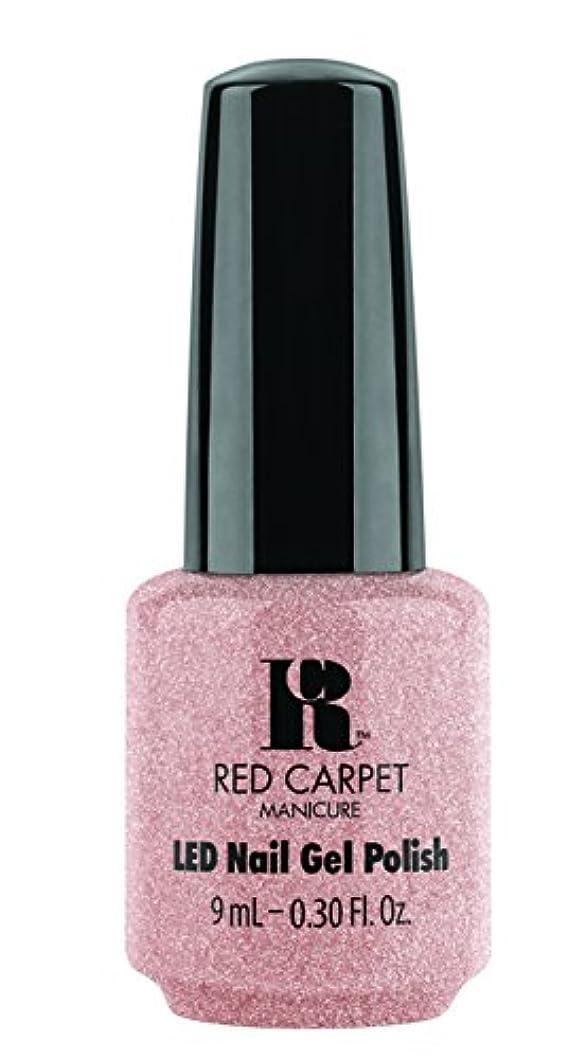 ダーリンおもてなしベストRed Carpet Manicure - LED Nail Gel Polish - Shimmery Silouette - 0.3oz / 9ml