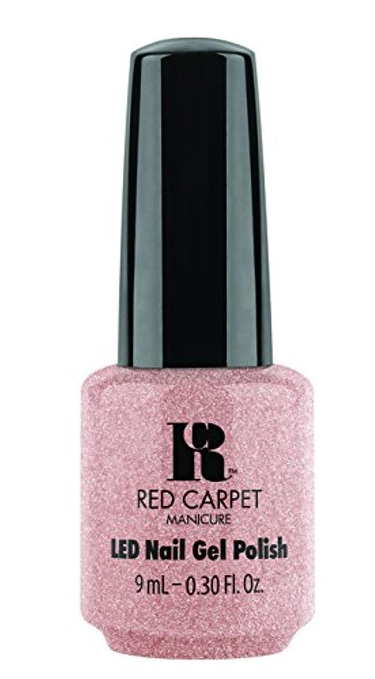 現代のお祝いキャンディーRed Carpet Manicure - LED Nail Gel Polish - Shimmery Silouette - 0.3oz / 9ml