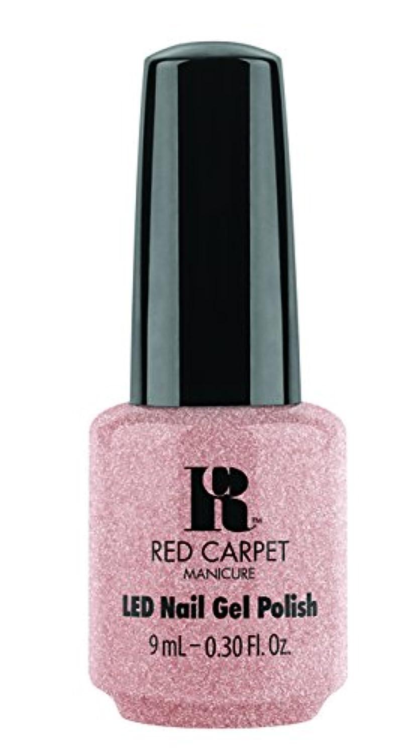 道徳教育トレイ音楽Red Carpet Manicure - LED Nail Gel Polish - Shimmery Silouette - 0.3oz / 9ml
