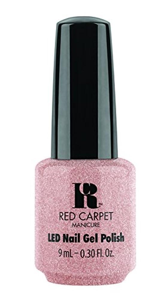 トレイルコール否認するRed Carpet Manicure - LED Nail Gel Polish - Shimmery Silouette - 0.3oz / 9ml