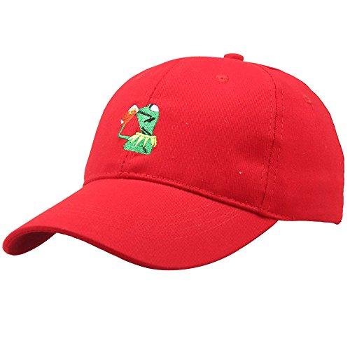 [해외]캡 모자 鳥打帽 야구 모자 골프 모자 레이디스 맨즈 남녀 겸용 작은 얼굴 효과 한국 패션 캐주얼 로고 자수 귀여운 개구리 크기 조정 가능!/Cap hat bird hat baseball cap golf cap ladies men`s unisex minor face effect Korean fashion casual l...