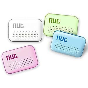 キーファインダー 探し物発見器 落し物 忘れ物 GPS搭載 Key Finder スマホ用 Bluetooth4.0 Android/iPhone対応 ゆうパケットで送料無料◇NUT-MINI (グリーン)