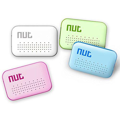 キーファインダー 探し物発見器 落し物 忘れ物 GPS搭載 Key Finder スマホ用 Bluetooth4.0 Android/iPhone対応 ゆうパケットで送料無料◇NUT-MINI (ホワイト)