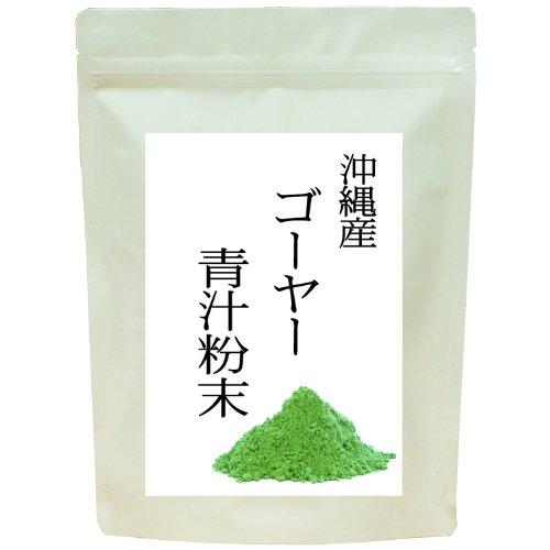 自然健康社 沖縄産ゴーヤー青汁 100g チャック付アルミ袋入り