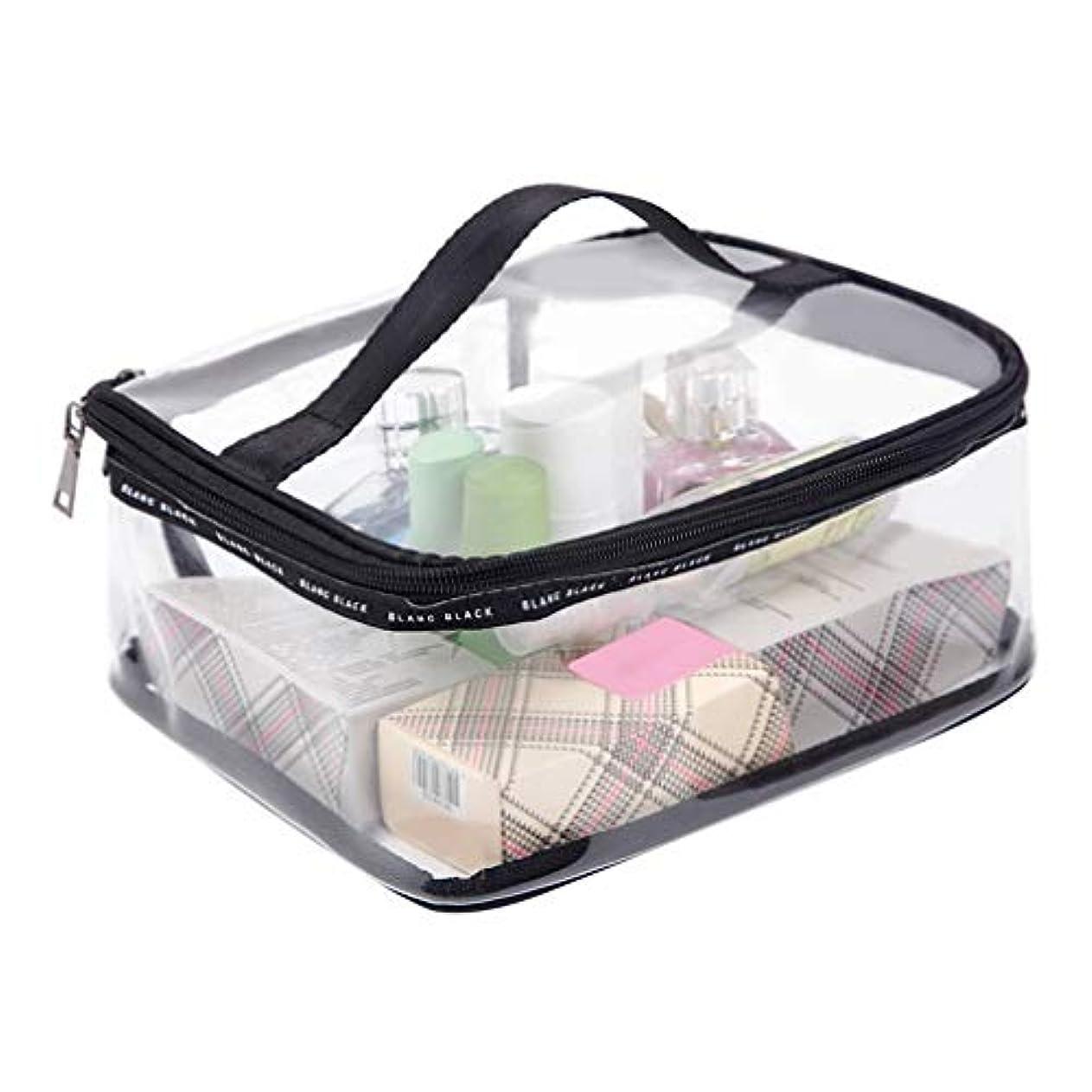 日帰り旅行に今カプセル旅行ストレージウォッシュバッグ防水ポリ塩化ビニールコスメティックバッグ透明ウォッシュバッグ男性と女性ポータブル仕上げパッケージ