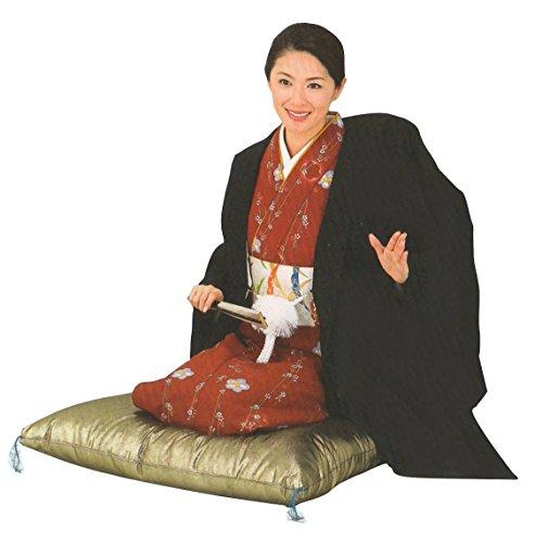 二人羽織 【男女兼用】黒(bs8785) 宴会やかくし芸に! 本格的な二人羽織です
