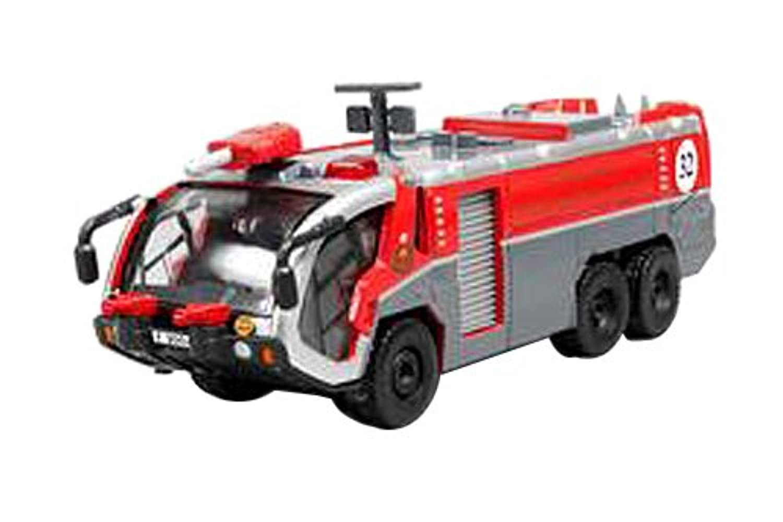 Tiny City 1/50 Dx4 HKFSD (AFC) 空港消防車 完成品