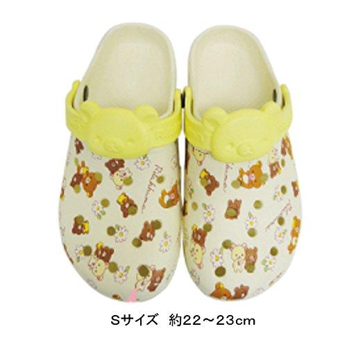 【リラックマ】プリントサンダル/レディースサイズ(S/アイボ...
