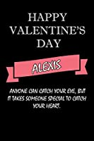 happy valentine's day  Alexis Quote: composition notebook :valentine's day gift for an happy valentine day gratitude your lover