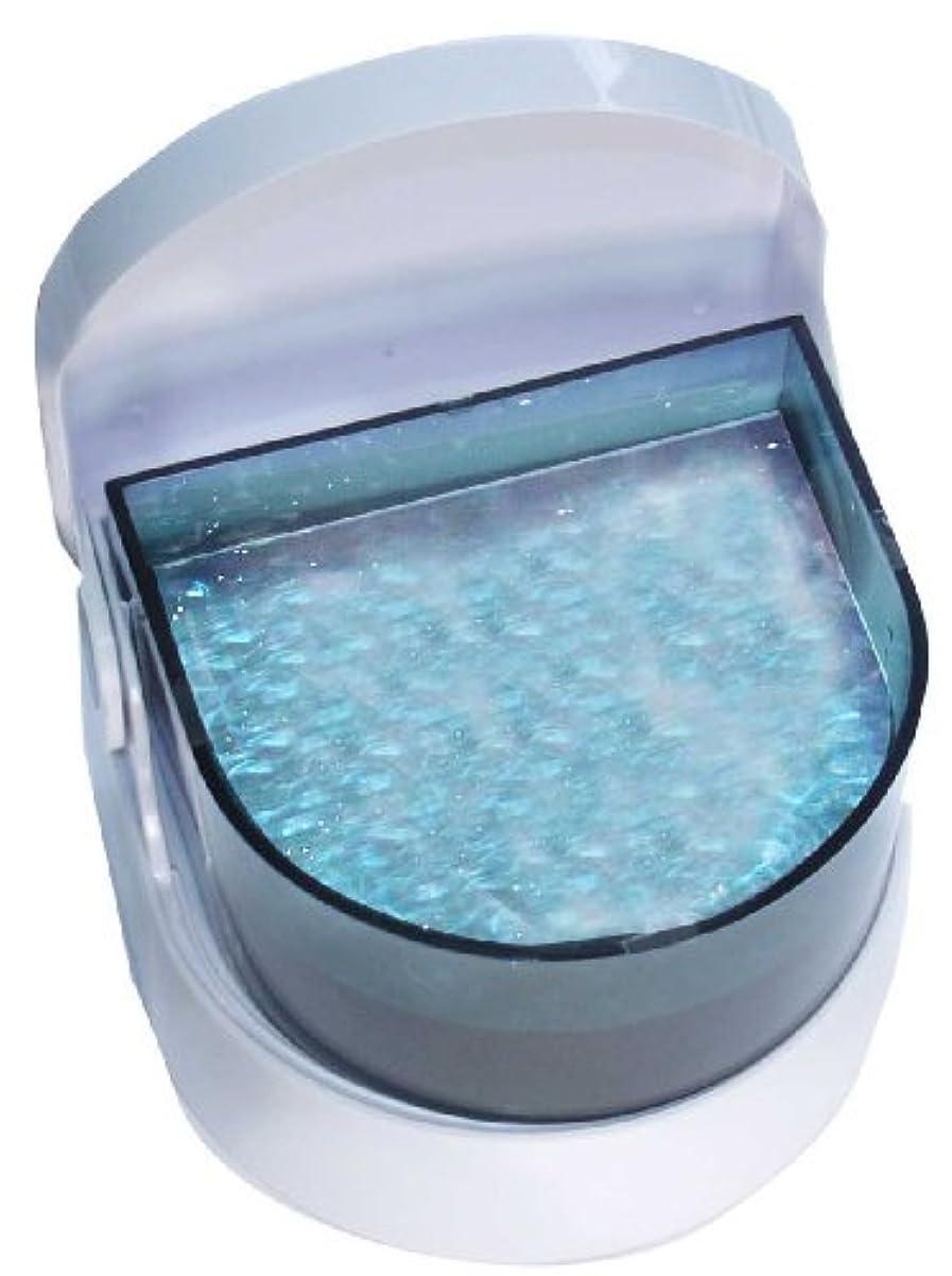 コウモリ振り返る認可超音波入れ歯洗浄器 Dr.Agクリーン