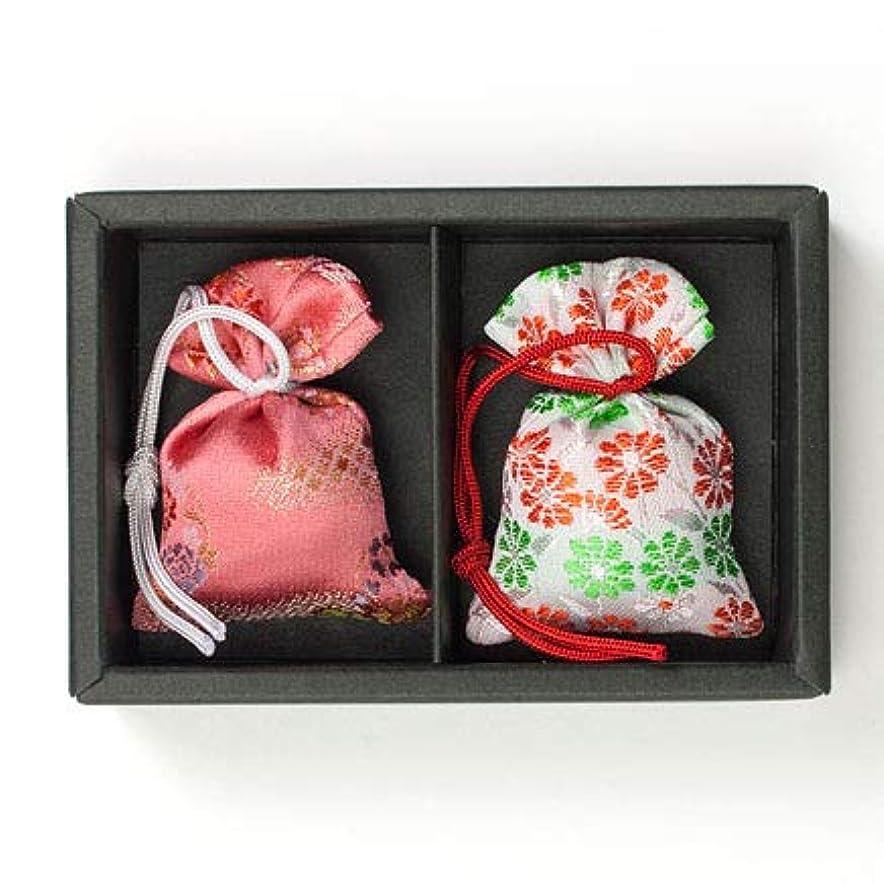生物学計算可能提案する匂い袋 誰が袖 極品 2個入 松栄堂 Shoyeido