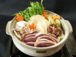 鴨鍋せんべい汁セット4〜5人前(鴨のネギつみれ) 冷凍 KN-R2M2TSZ