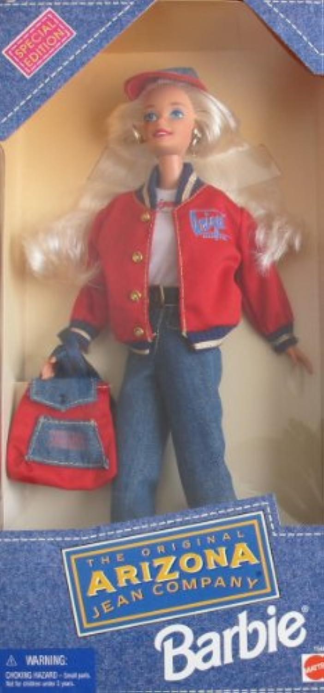 Barbie Year 1995 30cm Doll - The Original Arizona Jean Company Barbie Doll with Denim Jeans, T-Shirt, Denim Jacket, Baseball Cap, Backpack, Boots and Hairbrush
