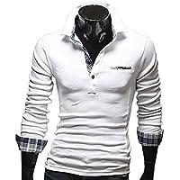 TOPSKY ポロシャツ 長袖 メンズ ゴルフウェア カットソー ロンT カジュアル トップス メンズ Tシャツ 秋 冬