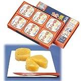 【満願堂】 栗入り芋金  (6個入り)