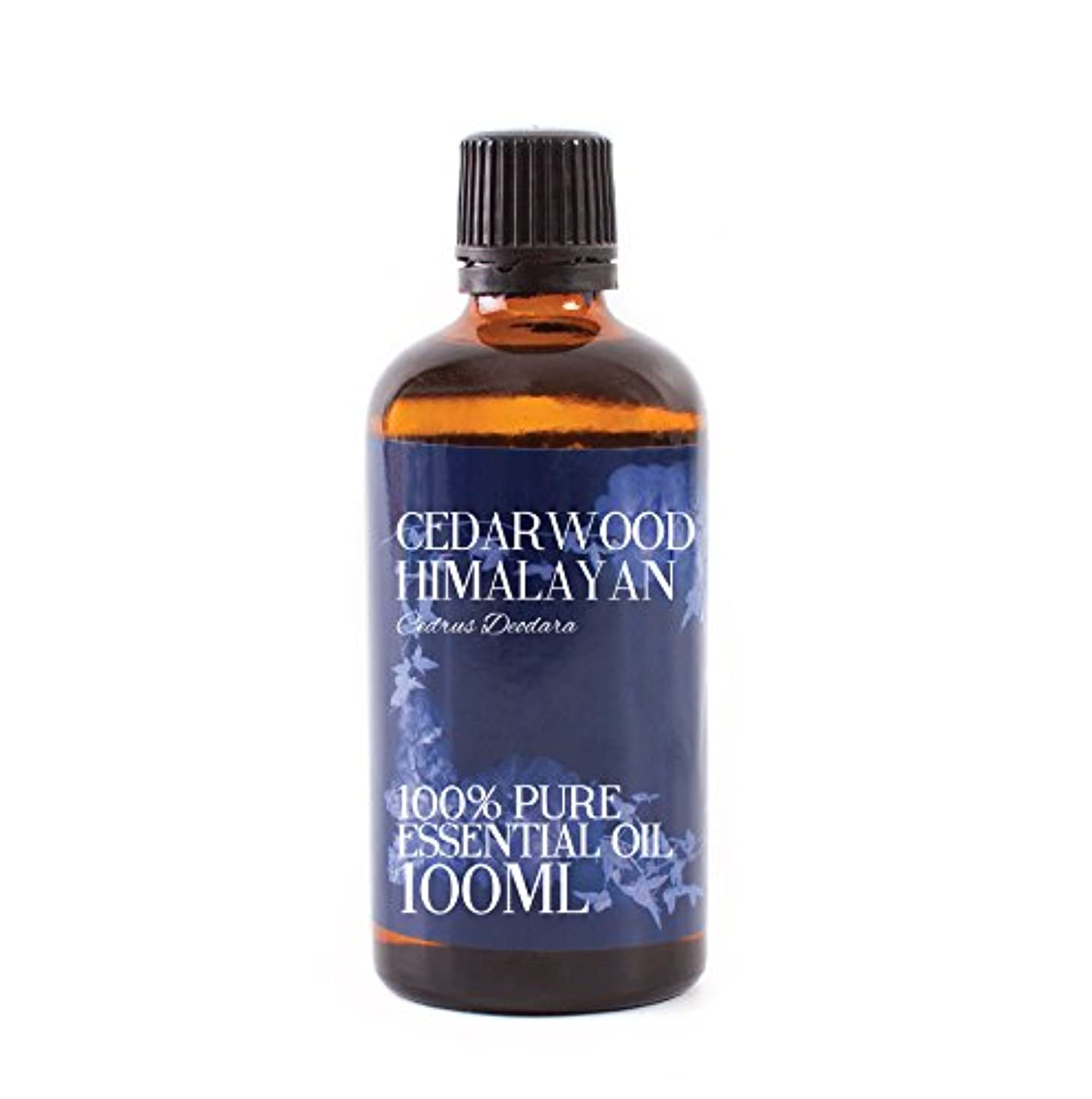 オデュッセウス保証金強風Mystic Moments | Cedarwood Himalayan Essential Oil - 100ml - 100% Pure