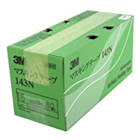3M No.143N マスキングテープ(車両用) 15mm×18M 80巻入