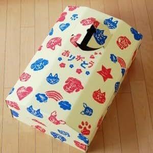 ペットの棺 ありがとうBOX Sサイズ シート付 犬 猫 うさぎ用