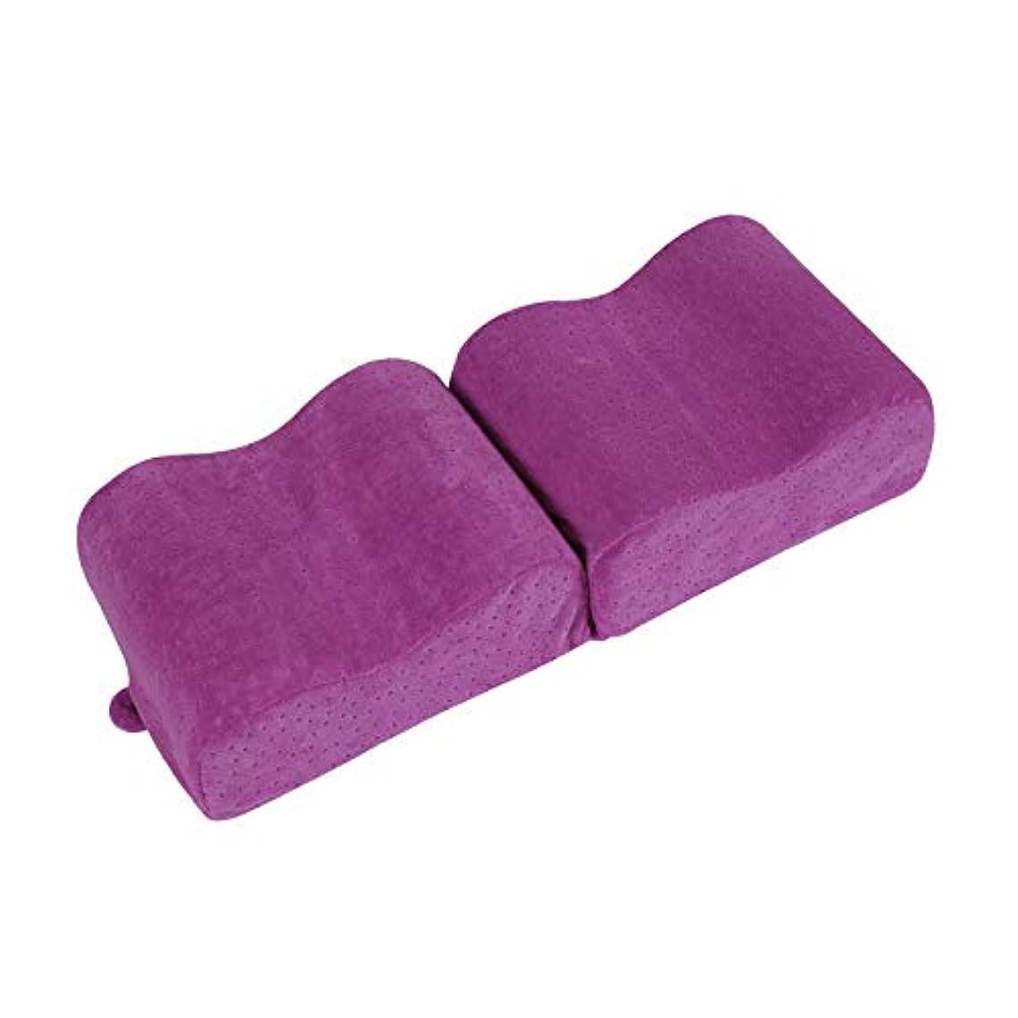 令状探偵知恵メモリコットン膝遅いリバウンドクリップ脚枕妊娠中の女性足枕脚枕膝枕Bタイプリリース足枕,Purple