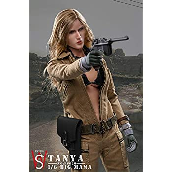 "SWtoys FS020 1//6 Scale EVA Tatyana BIG MAMA Pistol Model for 12/"" Figure"