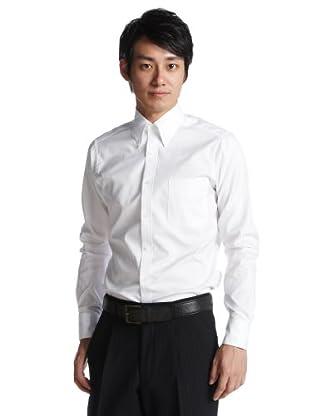 Pin Oxford Buttondown Shirt 5018: White