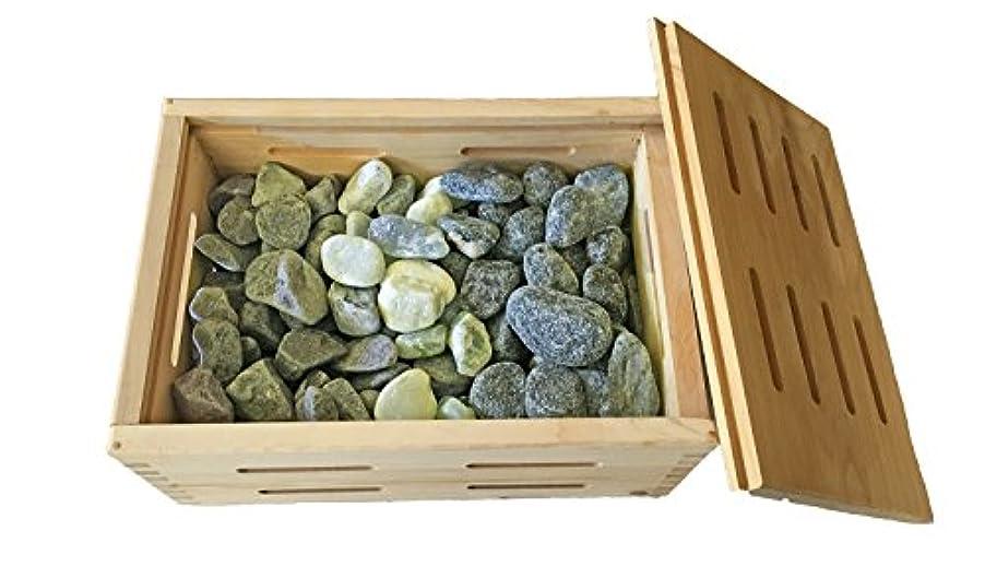 説明する石炭決定美容トルマリン岩盤浴ボディケアひのき湯