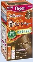 ビゲン 香りのヘアカラー 乳液 2 より明るいライトブラウン × 2個セット
