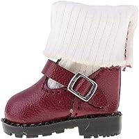 ノーブランド品  ファッション  PUレザー  マーティンブーツ  靴  12インチブライスドール用  服 3色選べる - 03