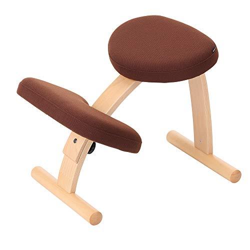 バランスチェア イージー Dブラウン ショートフレーム 姿勢が良くなる椅子 学習椅子 姿勢 矯正
