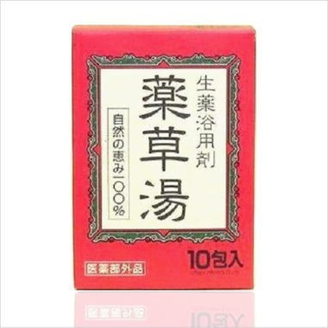 適用済みエレベーター読み書きのできないライオンケミカル 生薬浴用剤 薬草湯 10包 x 24個セット