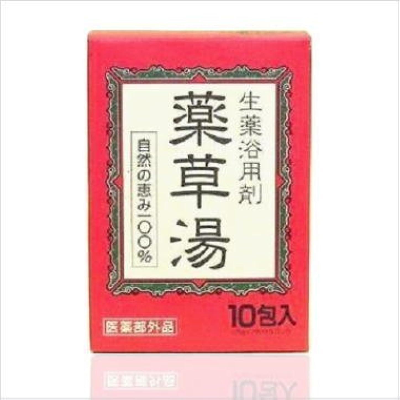 情熱的熱望する一見ライオンケミカル 生薬浴用剤 薬草湯 10包 x 24個セット