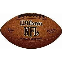 ウィルソンwtf1845 NFL究極複合公式サイズFootball – 数量4