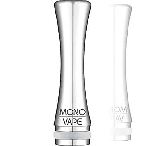 ドリップチップ MONOVAPE ベイプ マウスピース 510規格 drip tip スピットバック 防止 ステンレス 510 vape 用 キャップ カバー mv011 [日本正規品] (SI)